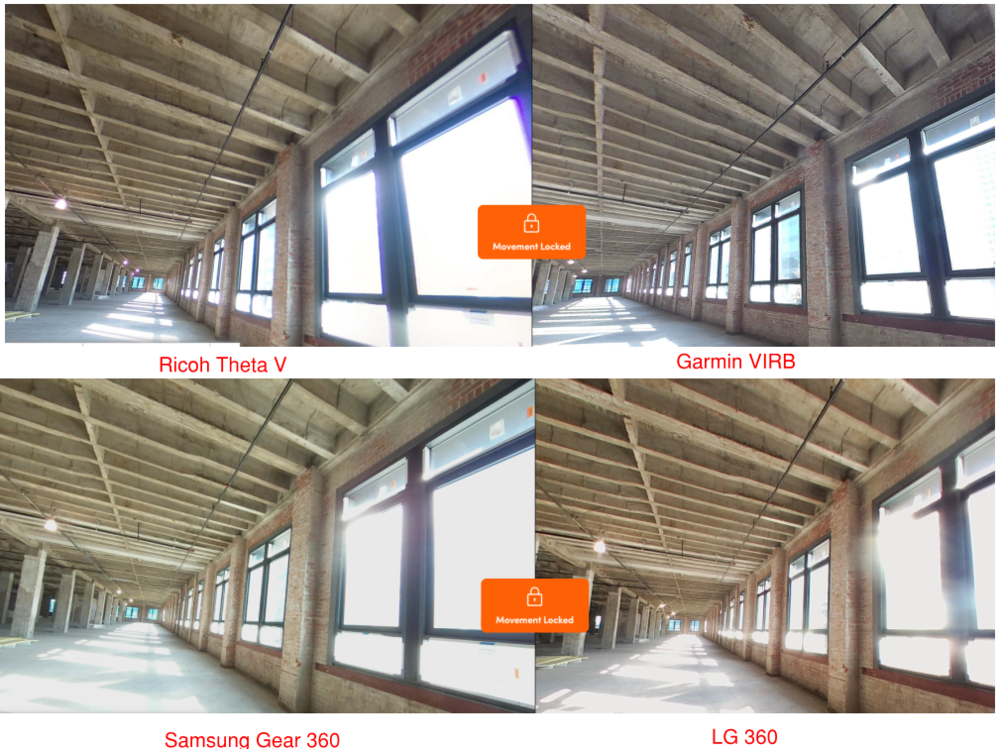 "Struction Site's "" 360 Camera Photo Quality Comparison on a real Construction Site """