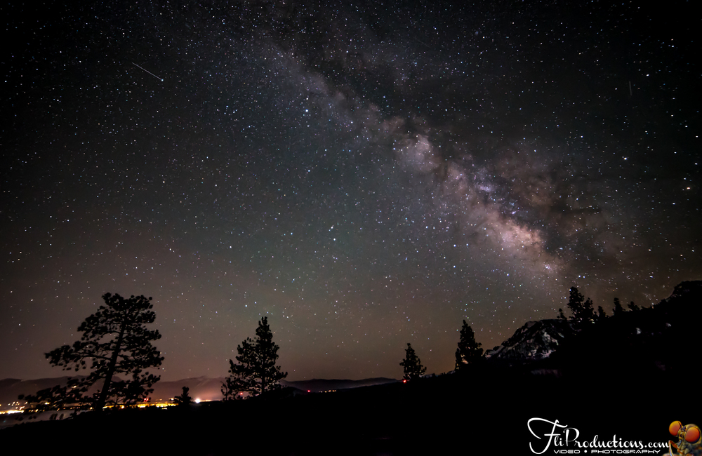 Lake Tahoe - Meeks Bay - Milky Way - Astrophotography
