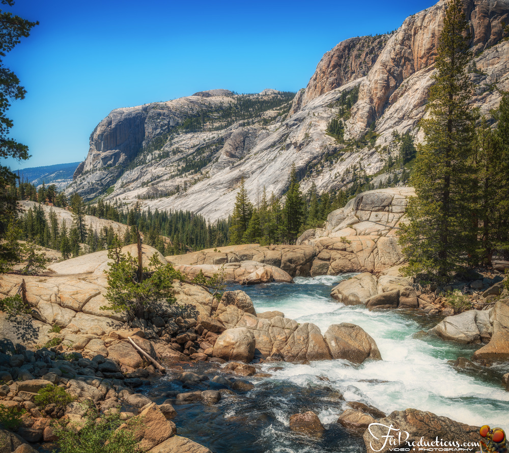 Tuolumne River, Glen Aulin Trail - Yosemite National Park