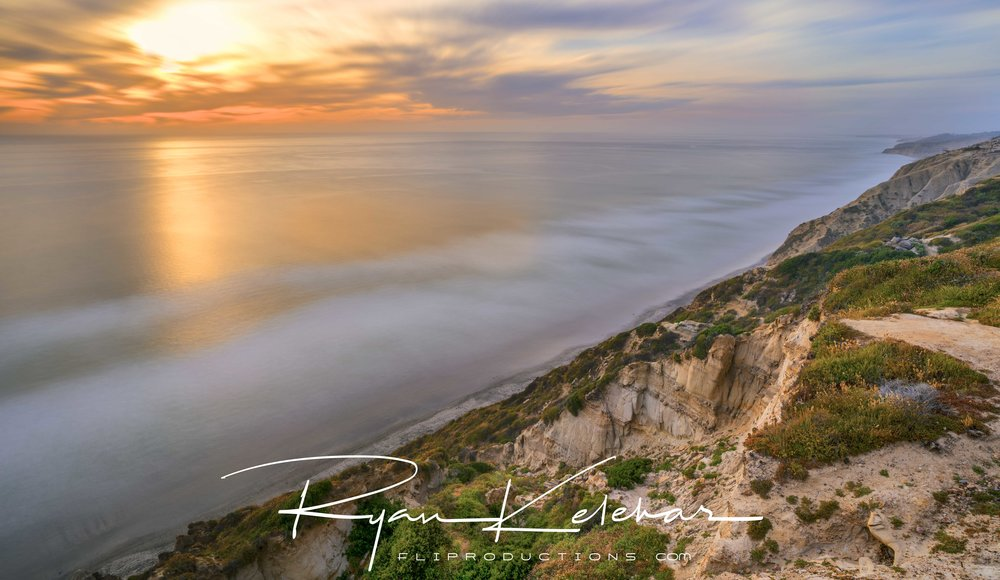 Torrey Pines, San Diego Beach, California