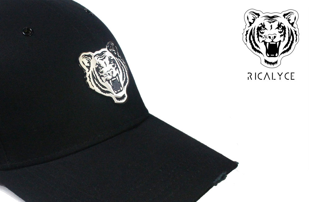 Ricalyce distressed tiger cap