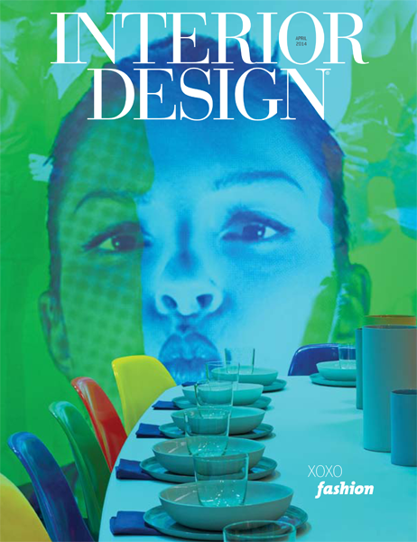On the Cover: Birthday Party: DIFFA Celebrates 30 Years at Dining by Design NYC INTERIOR DESIGN June 2014