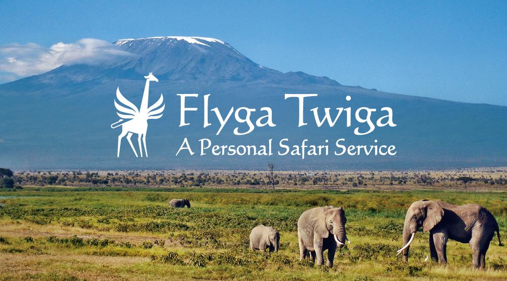 Flyga Twiga LLC Logo Card © Flyga Twiga LLC