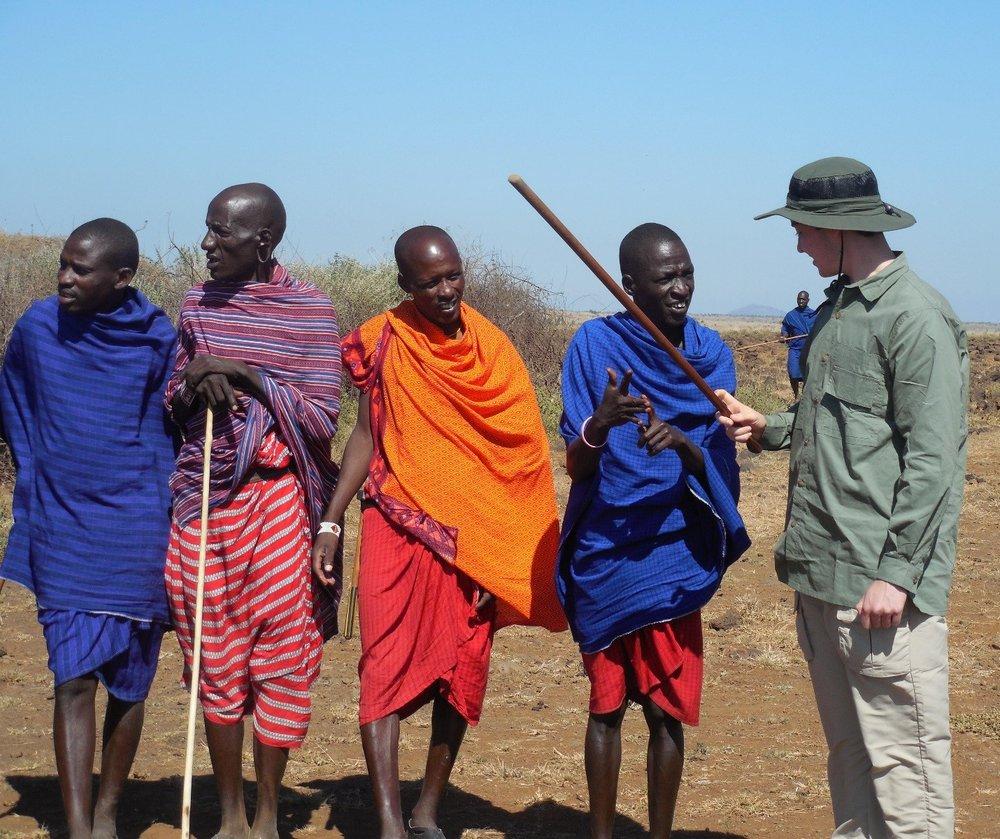 Masai, Amboseli National Park, Kenya ©Flyga Twiga LLC