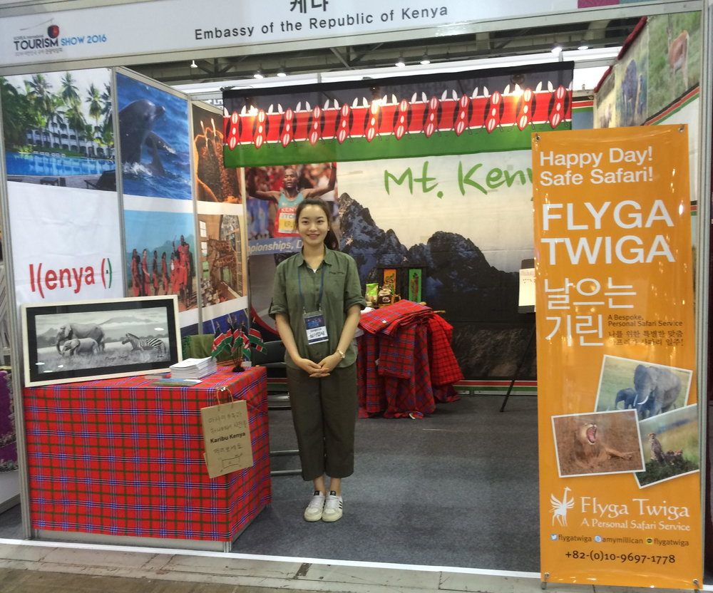 Won Sun Jang Tourism Student KITS 2016 © Flyga Twiga LLC