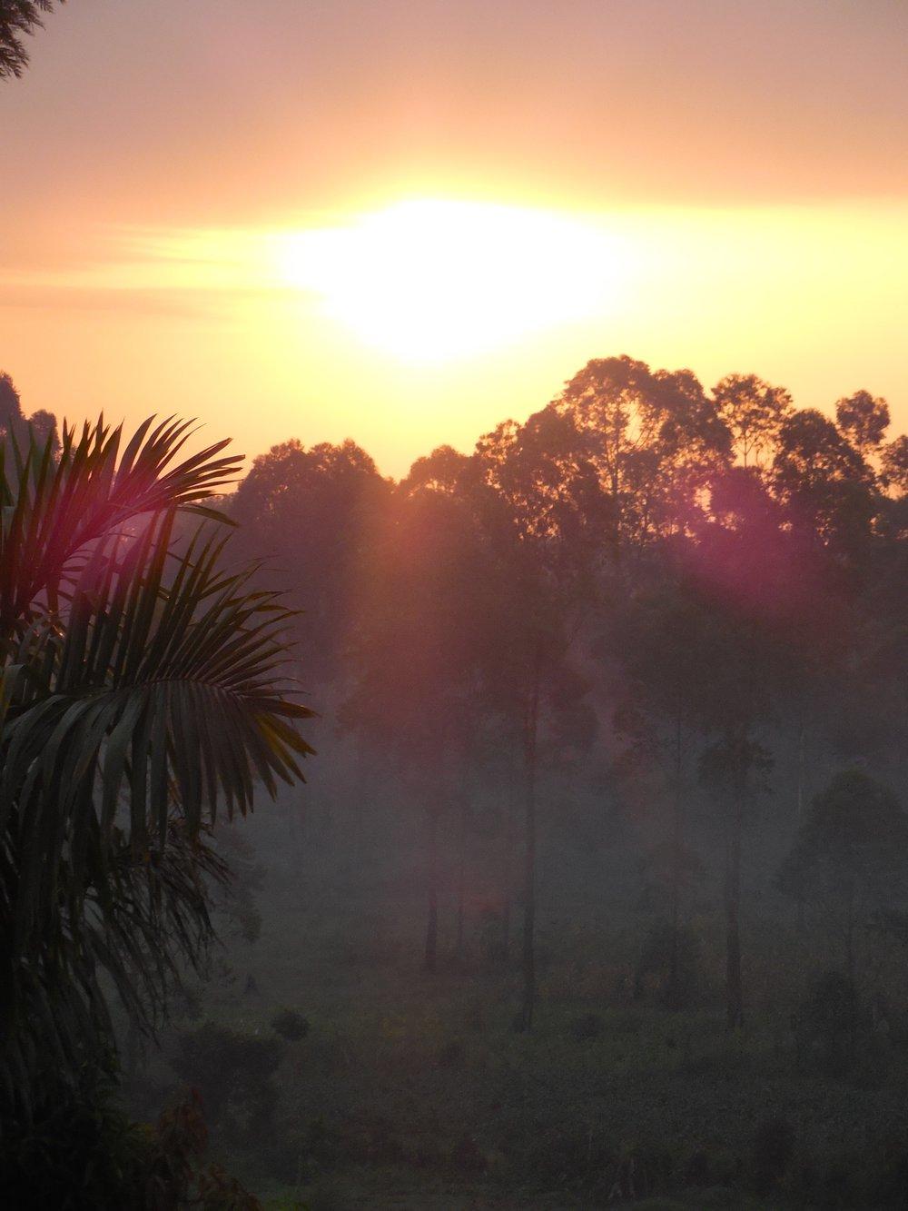 Sunset Uganda © Flyga Twiga LLC