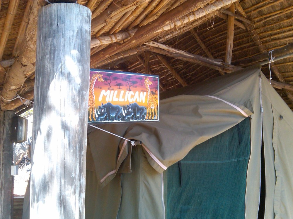 Tented Banda Swahili Language School Arusha, Tanzania © Flyga Twiga LLC
