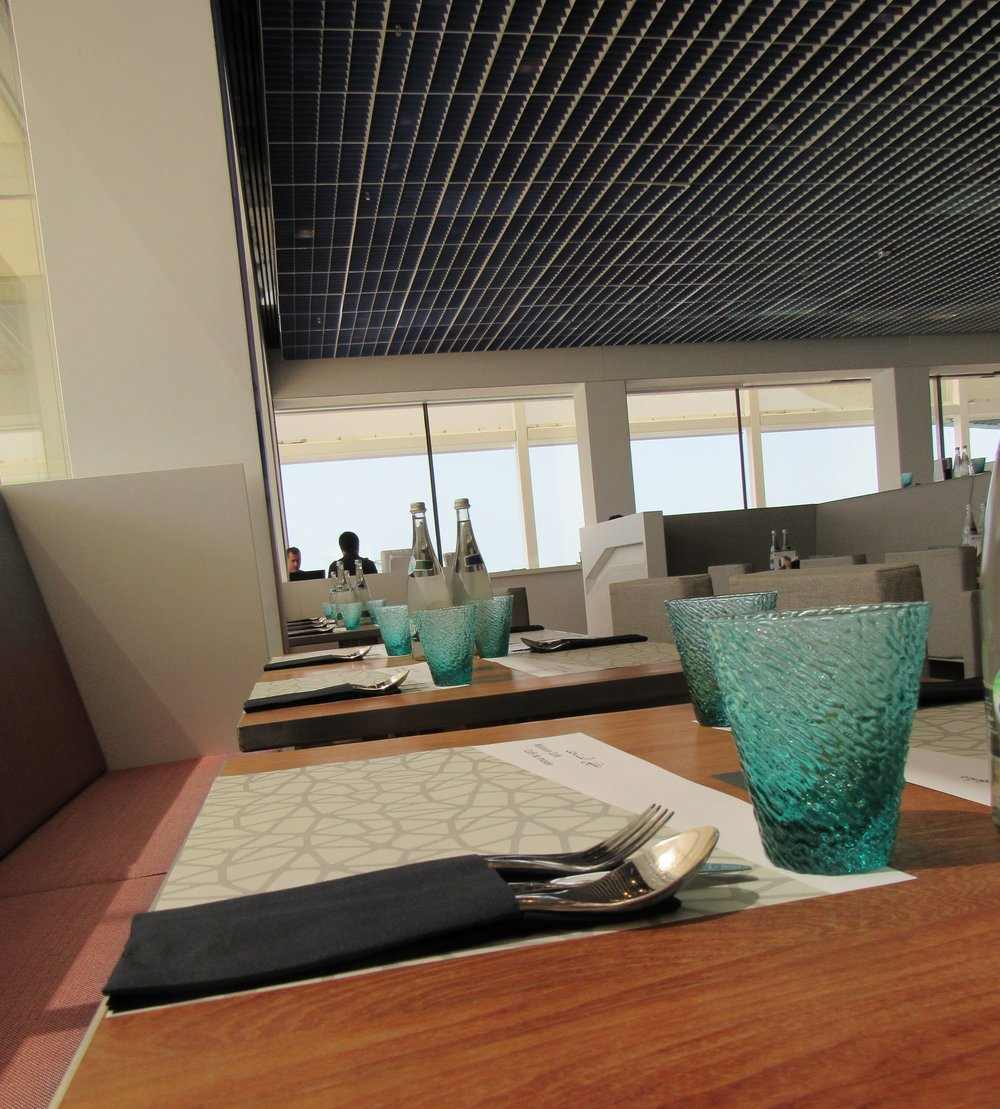 Louvre Abu Dhabi Museum Café © Flyga Twiga LLC