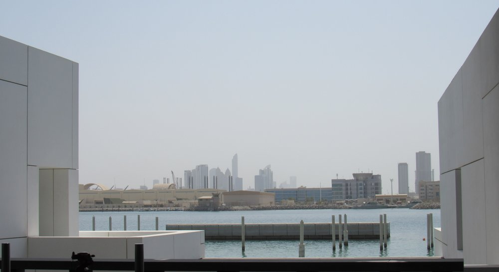 View from Louvre Abu Dhabi © Flyga Twiga LLC