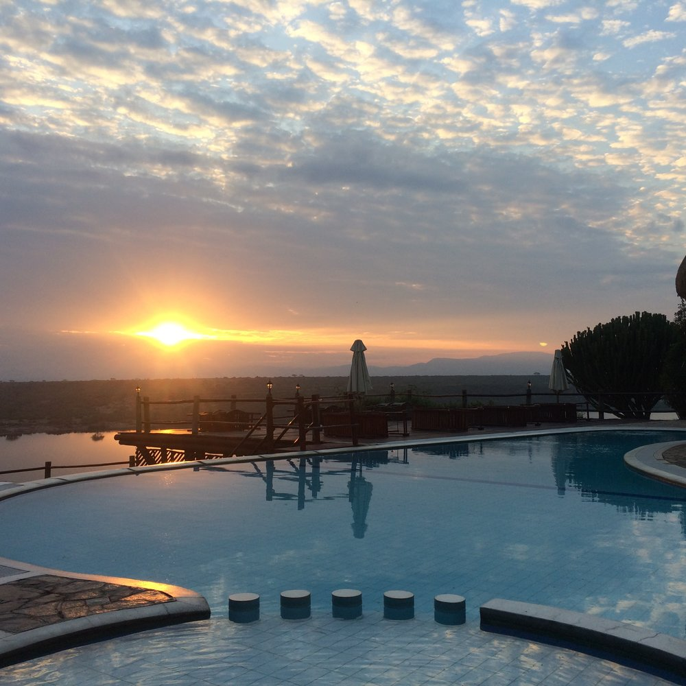 Pool in Africa ©Flyga Twiga LLC