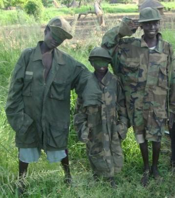 Children Playing Wildlife Rangers in Boma South Sudan ©Flyga Twiga LLC