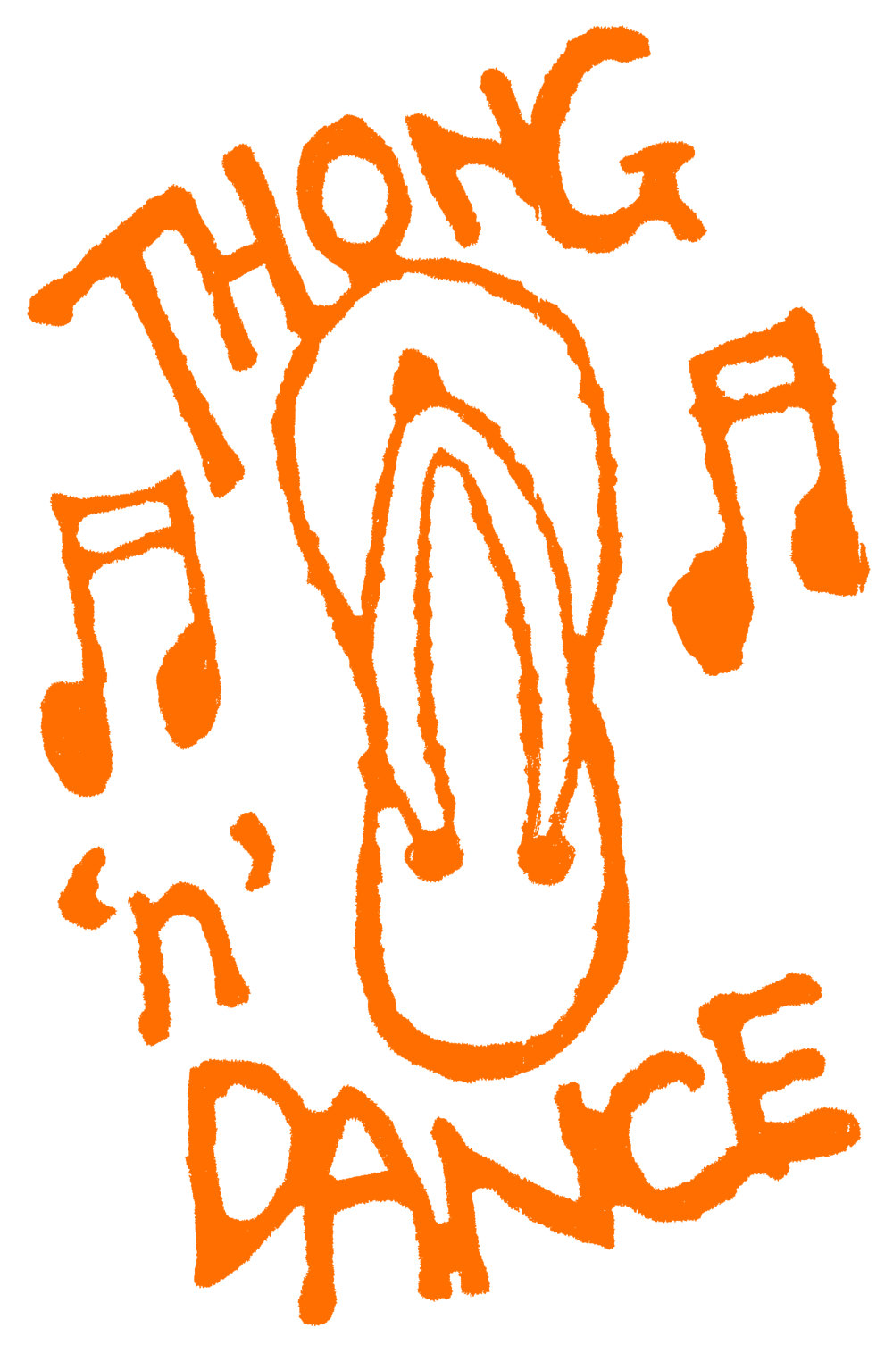 Thong 'n' Dance Logo