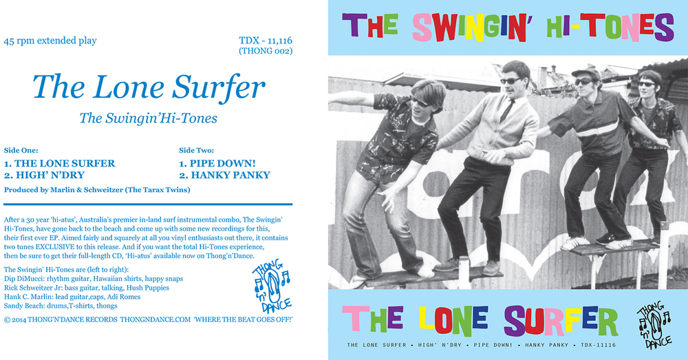 the swinging' hi-tones-7inch