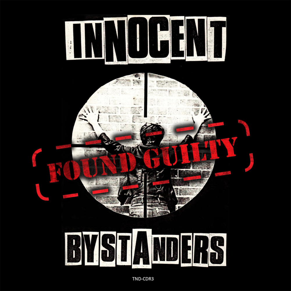 Wall poster for former Hamilton band,  Innocent Bystanders