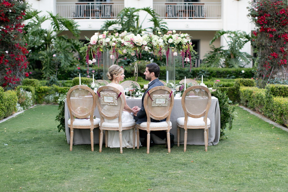 Park Hyatt Aviara wedding by San Diego wedding florist, Compass Floral.