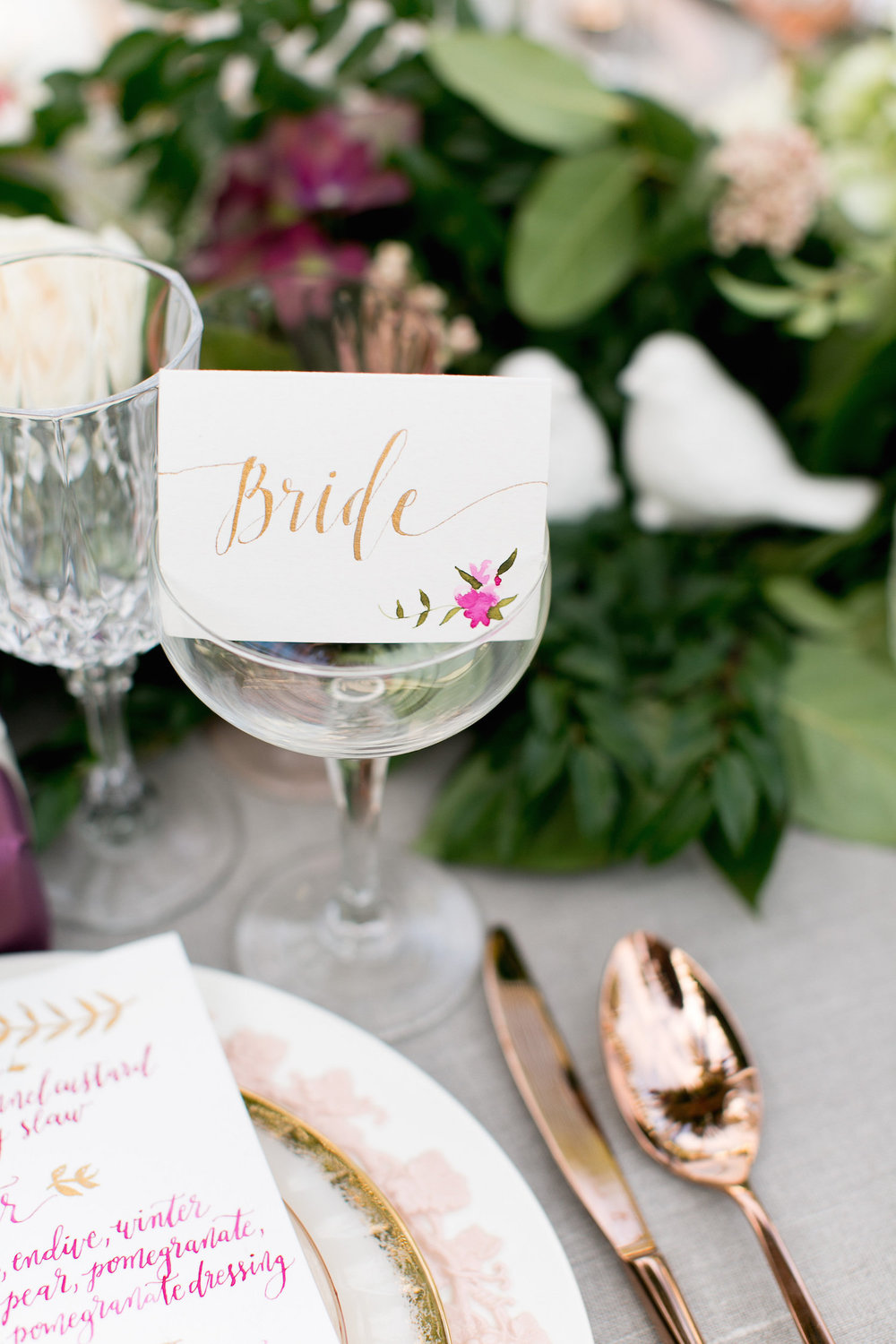 Wedding details by San Diego planner, Sweet Blossom Weddings.