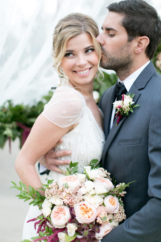 Marsala & blush wedding at the Park Hyatt Aviara Resort  by San Diego wedding florist, Compass Floral.