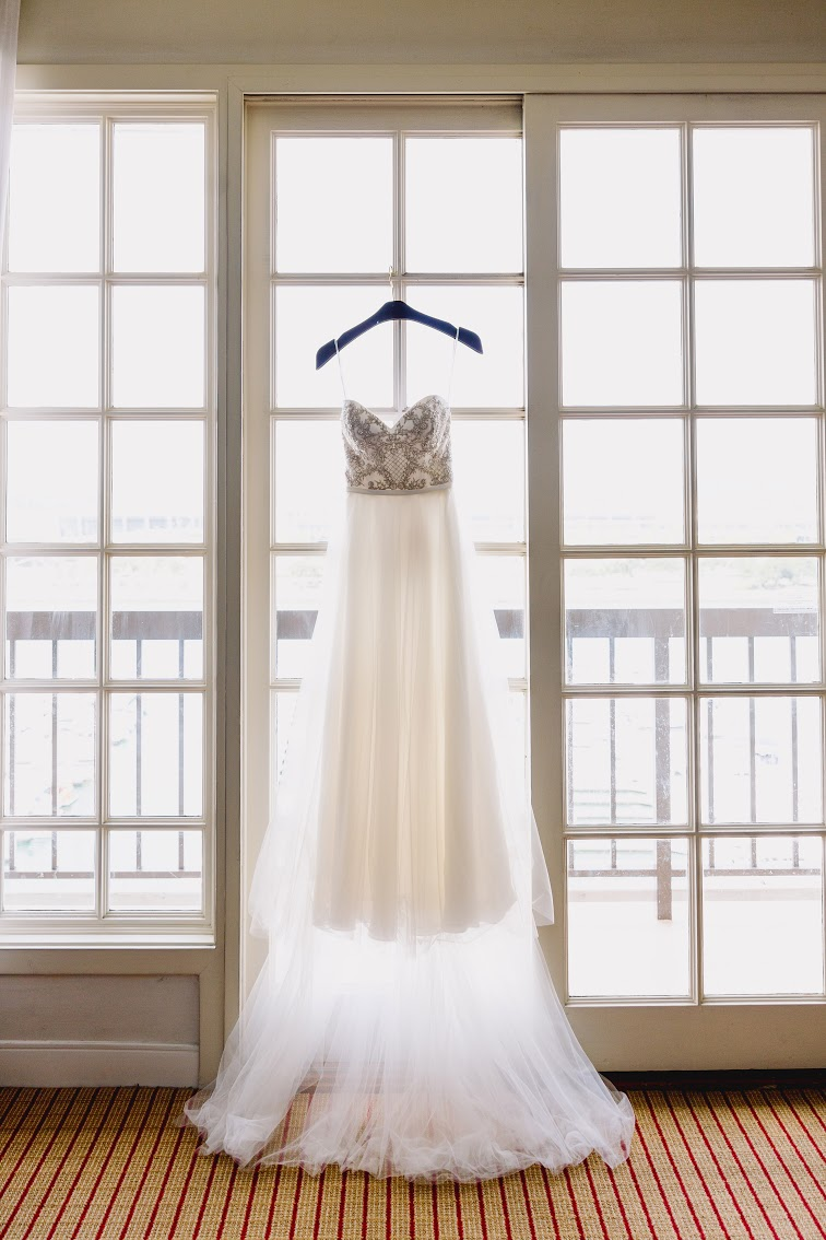 Winnie Couture wedding dress.