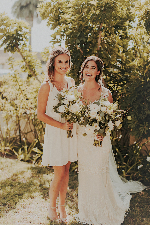 Herb weddingby San Diego wedding florist, Compass Floral.