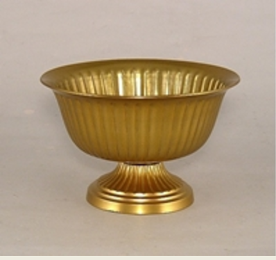 Fluted Gold Bowl