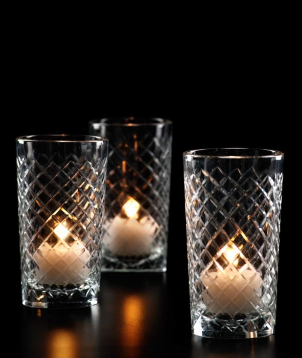 Cut Glass Votive