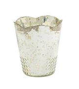 Silver Tulip Vase