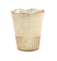 Gold Tulip Vase