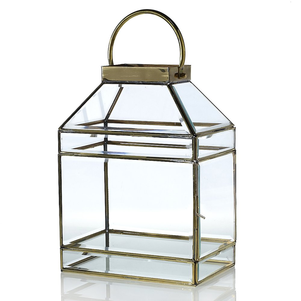 Gold & Glass Lantern