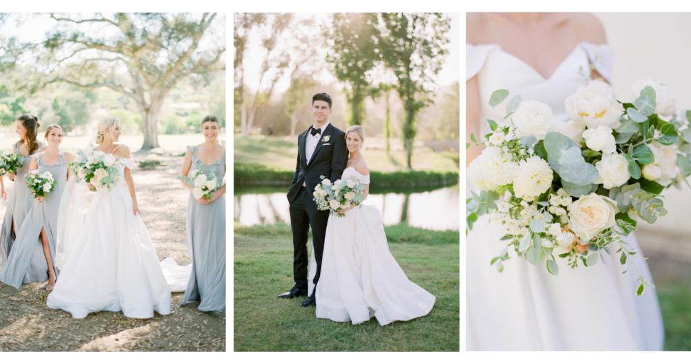 Elegant, black tie wedding in San Diego | Rancho Santa Fe Golf Club | Compass Floral | Wedding Florist in San Diego and Southern California | Rachael McCall Photography