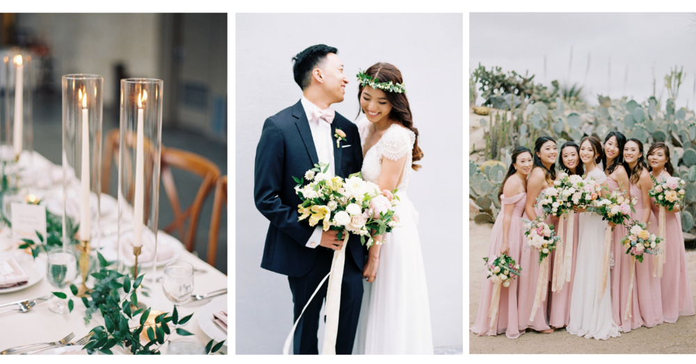 Colorful, elegant San Diego Wedding | Balboa Park | Compass Floral | Wedding Florist in San Diego and Southern California | Meiwen Wang Photography