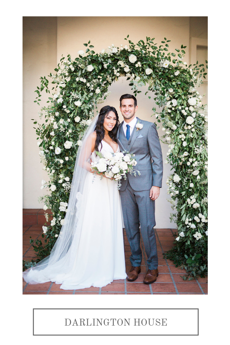 Darlington House, La Jolla | Compass Floral | Wedding Florist in San Diego and Southern California | My Sun and Stars Co. Photography