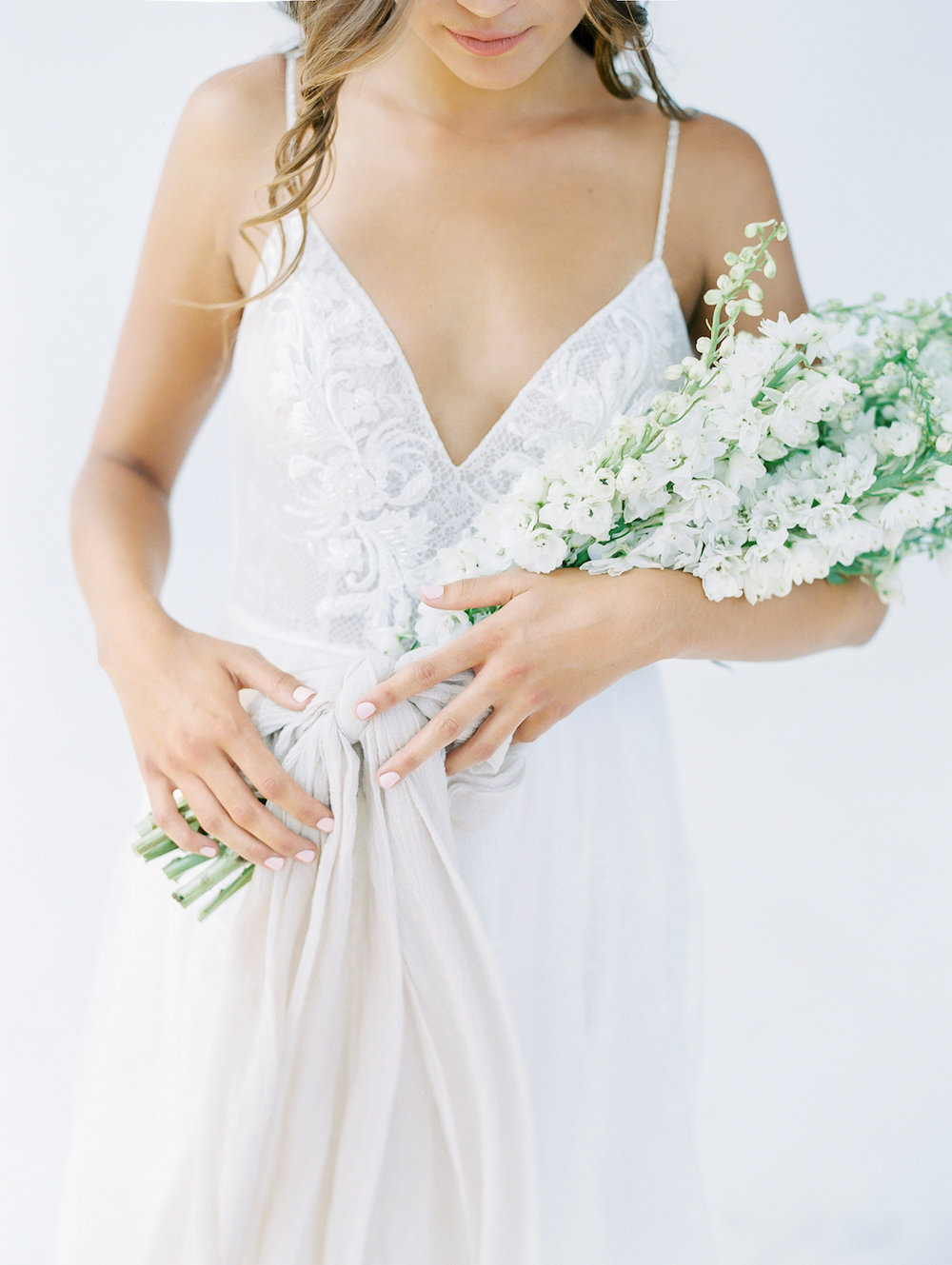 Delphinium bridal bouquet | Studio 710 | Compass Floral | Wedding Florist in San Diego and Southern California | Dear Lovers Photography