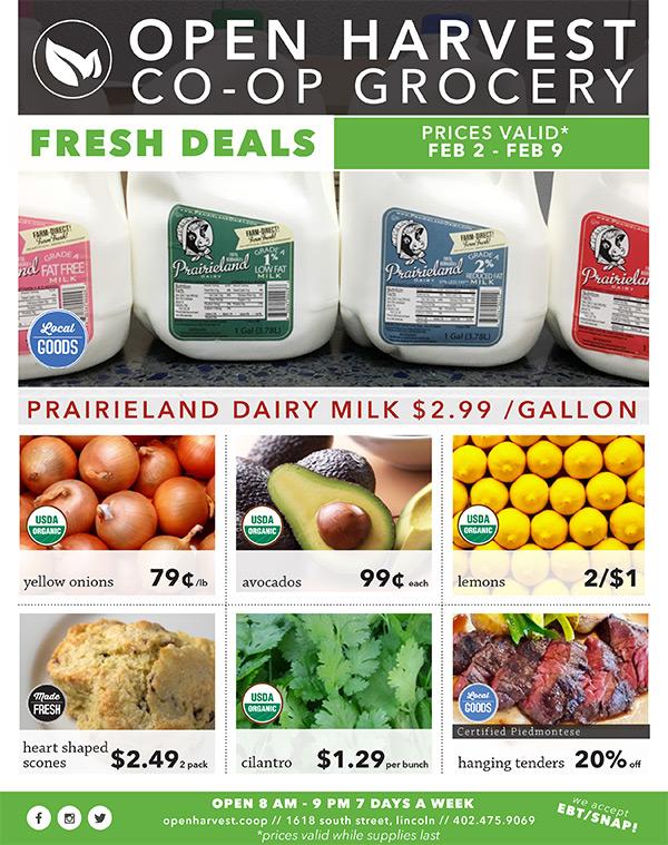 Prices valid January 5 - January 12