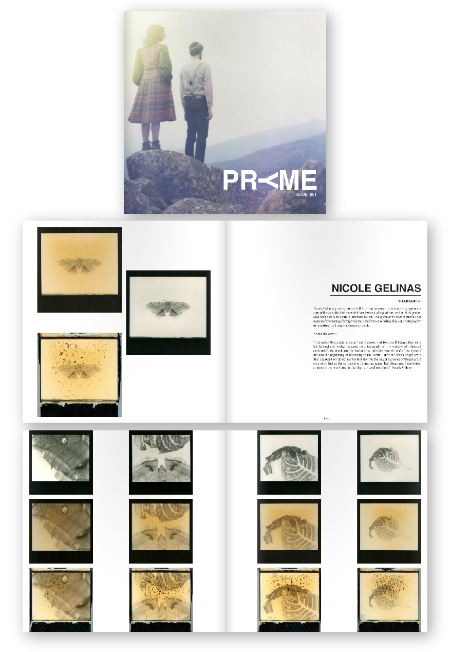 PRYME MAGAZINE POLAROIDS and INSTANT FILM PHOTOGRAPHY Nicole Gelinas