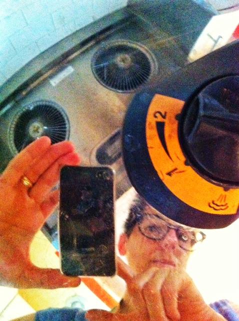 A pressure cooker self-portrait