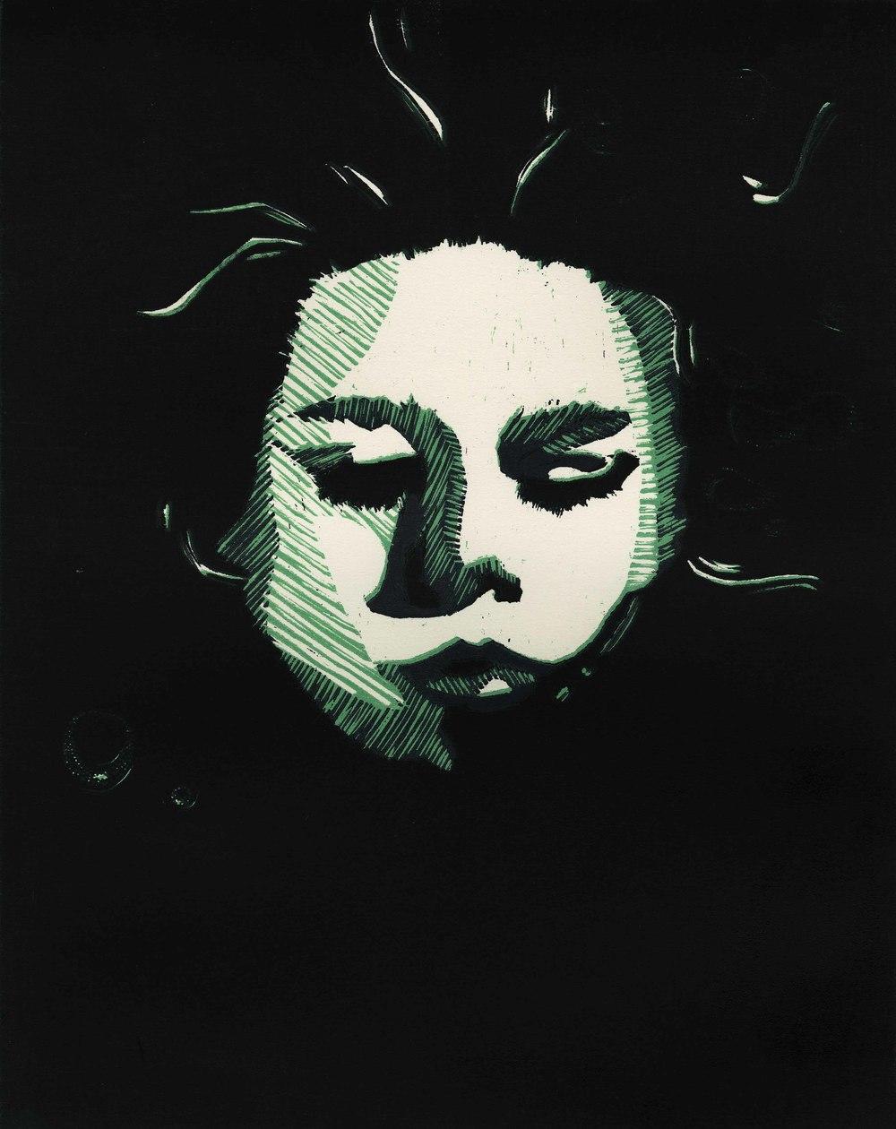 "16"" x 20"" Woodcut (2012)"