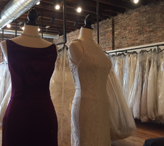 Dresses galore at Bon Bon Belle.JPG