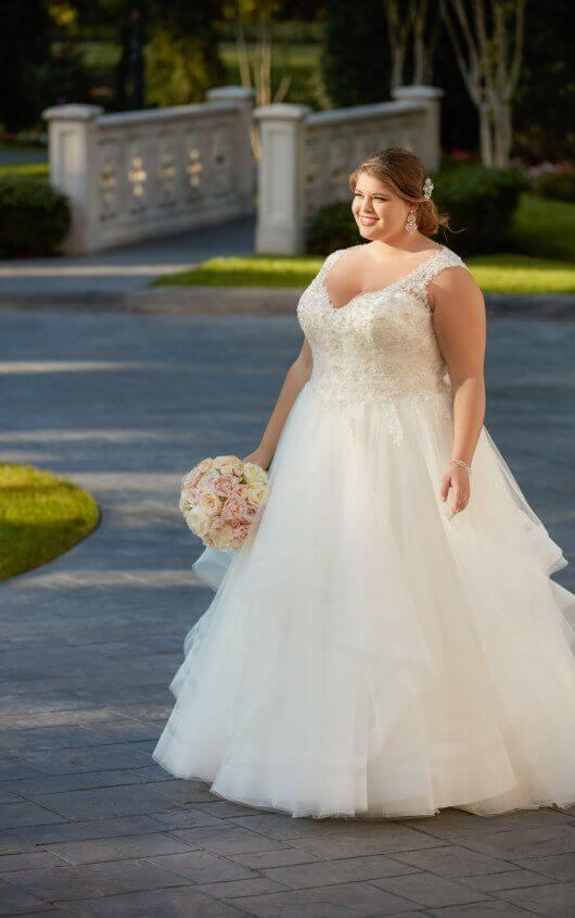 Beautiful Belle Princess Wedding Dress Festooning - Wedding Ideas ...