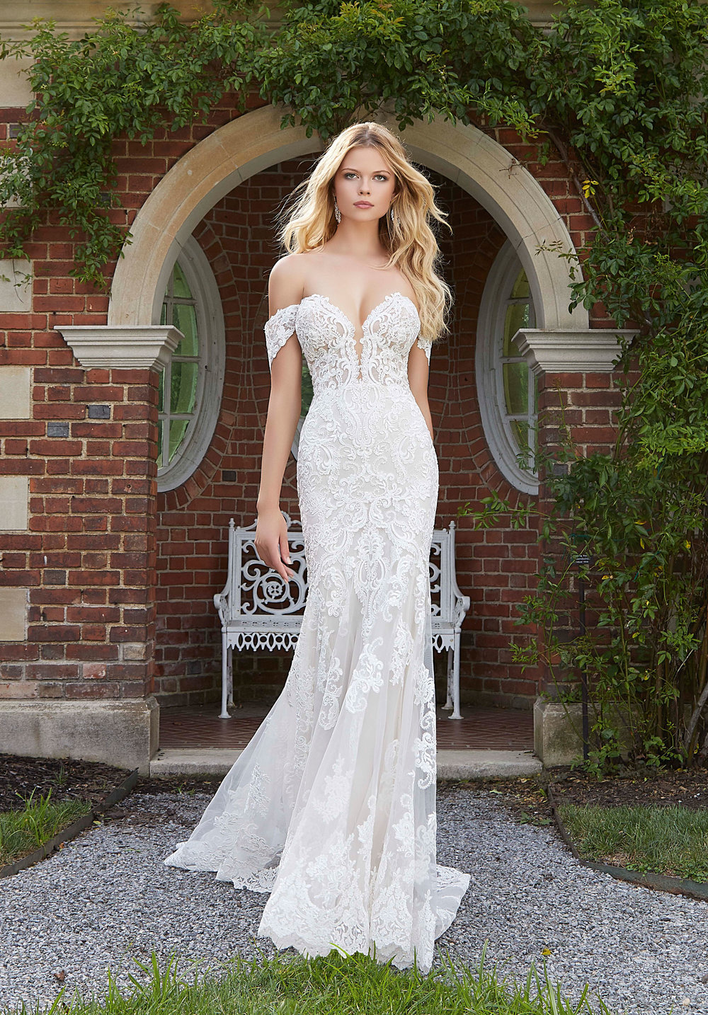 Gorgeous affordable Morilee wedding gown collection is available at Bon Bon Belle Bridal.