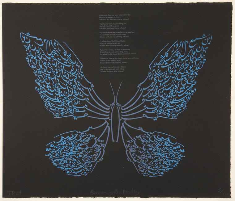Burning Butterfly - Ten Poems from Hafez