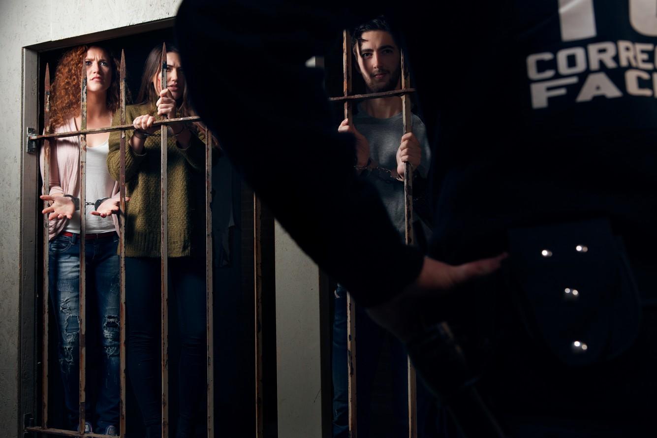 The Prison Cell is een van de drie escape rooms van The Great Escape.