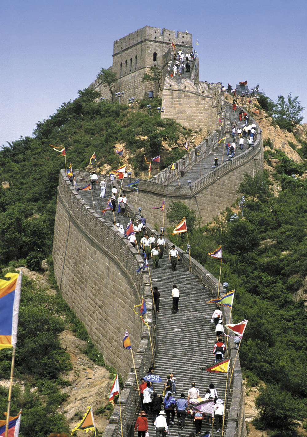 The Great Wall: A testament of the past, present, and future.