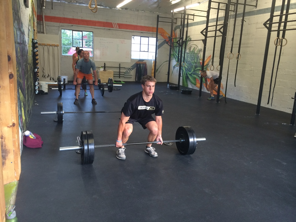 Beau will be ready for the CrossFit Total.