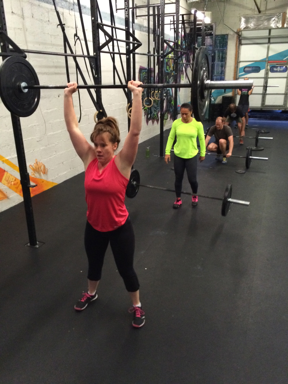 Brandie is one of the strongest ladies in our gym. She also happens to be one of the most welcoming to newcomers.