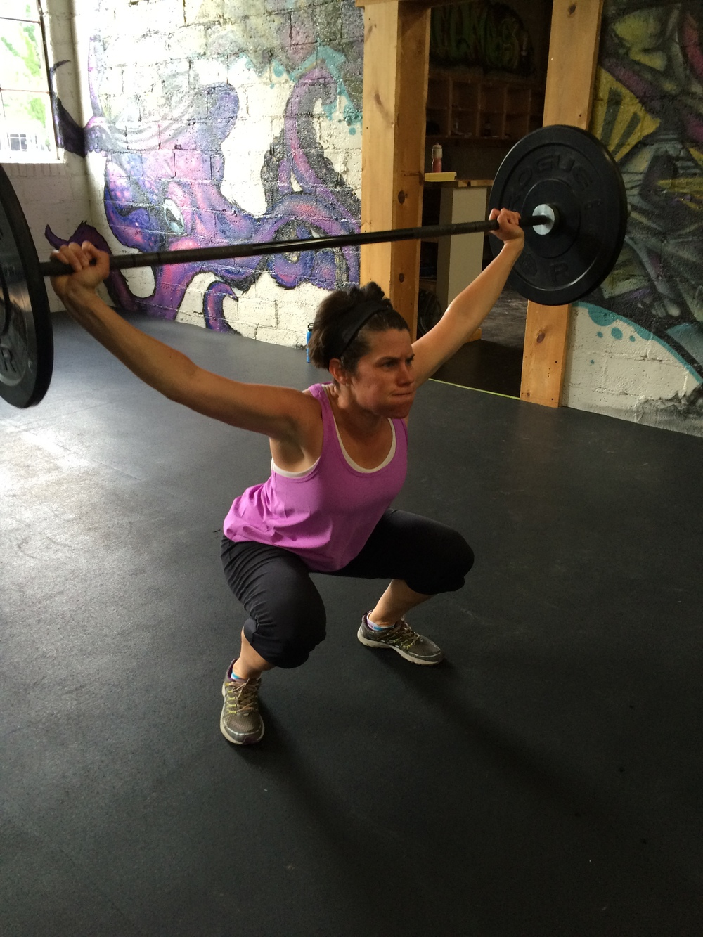 Yeah Suzanne! Strong work on the snatches this week!