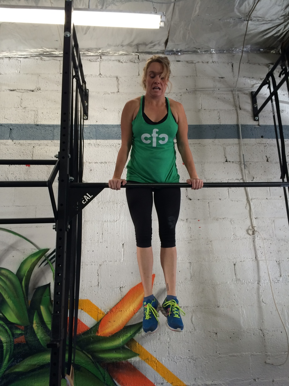 Bar Muscle Ups for Jen