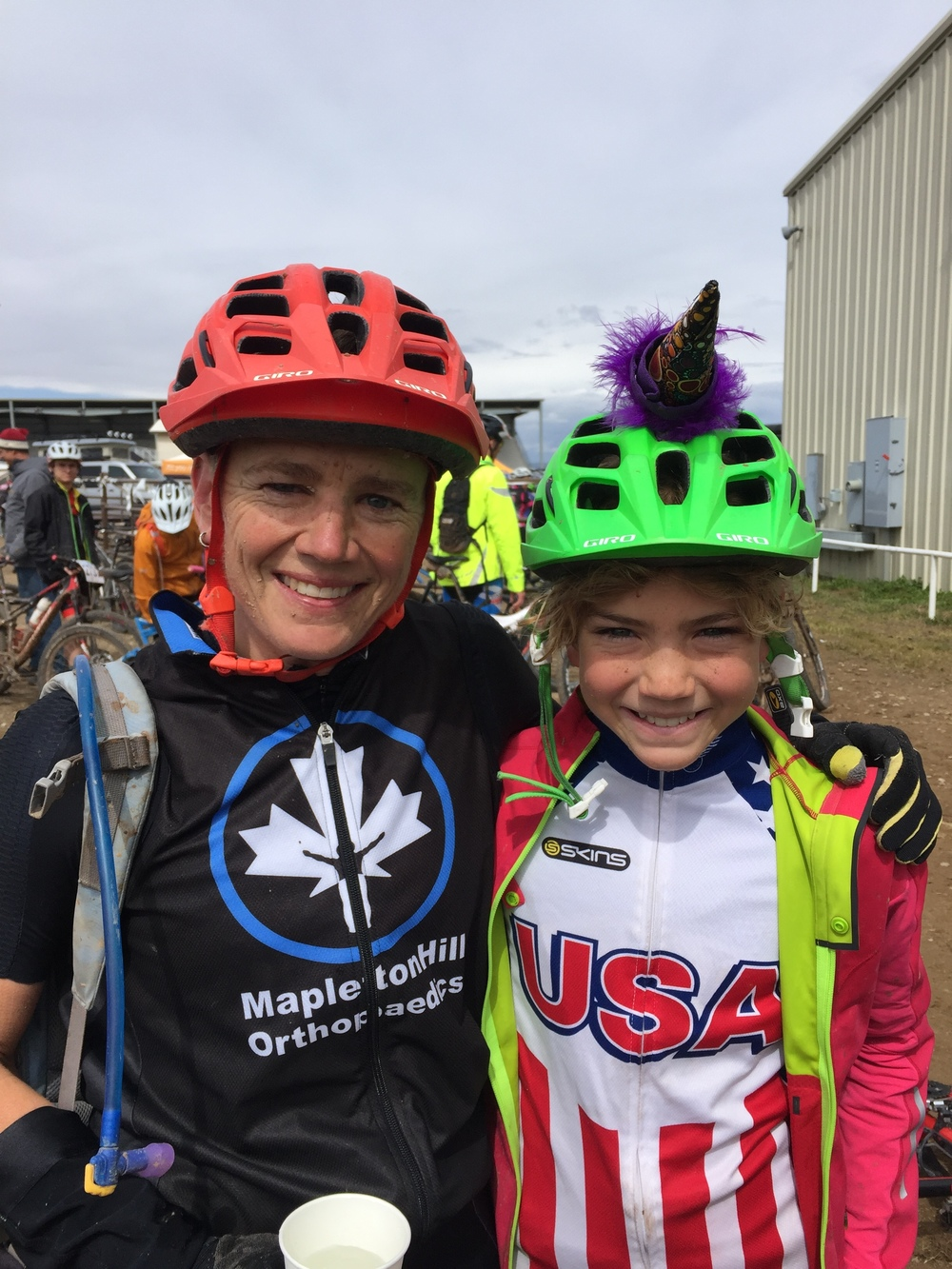 Sometimes you can fill your own bucket and be a mom at the same time. We had a great time at the bike race this weekend.