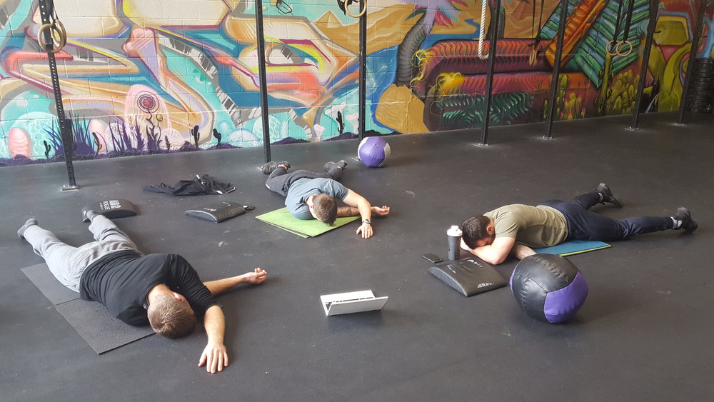 Mobility hour is not the same as nap time!