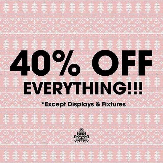 We are dropping prices! NOW ALL MERCH IS 40% OFF!!! Hurry in, things are clearing out lightening fast ⚡️⚡️⚡️