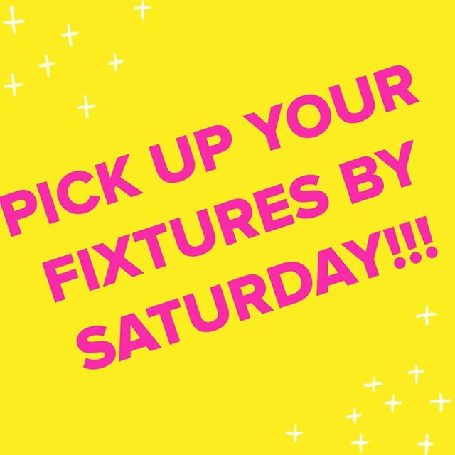 """Last day of business is this Saturday! I've called several customers to pick up their fixtures purchased. But I don't have a number for """"Clay & Kelly"""" who bought a coffee filter wall hanging. And the person who bought 3 rolling racks.... Hope y'all see this!!!! Come pick up your stuff 😊😊😊"""